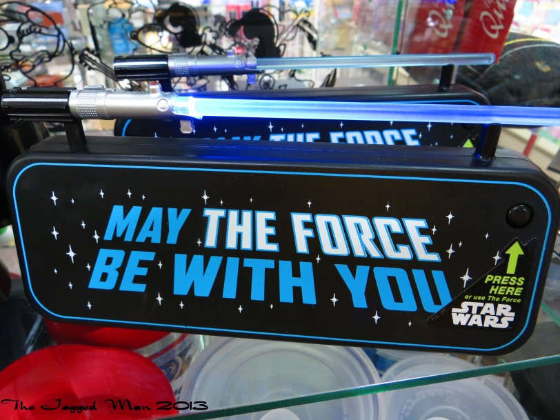 For all you Star Wars fans: May The 4th Be With You!